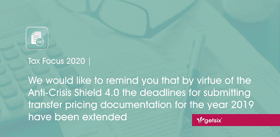 Extended deadlines for submitting transfer pricing documentation - header image