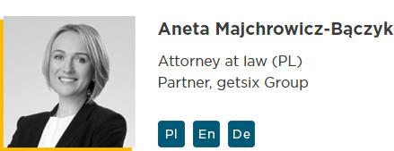 getsix® Tax & Legal Aneta Majchrowicz-Bączyk