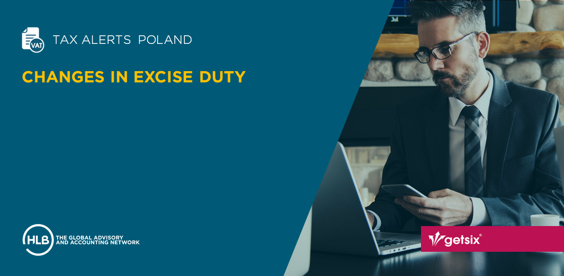 Changes in excise duty