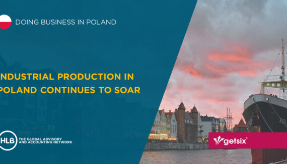 Industrial production in Poland continues to soar