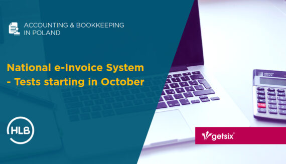 National e-Invoice System - Tests starting in October